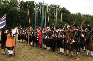 Mortaigne regiment a Via Cassa