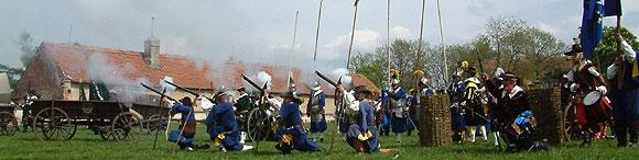 Altblau regiment v akci