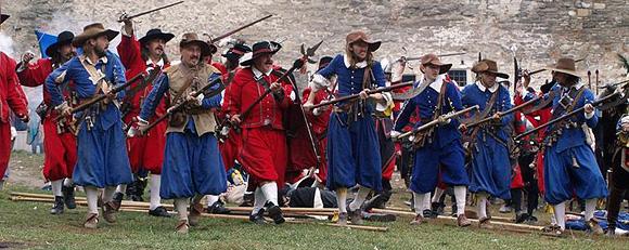 Altblau regiment a Magna Moravia   v útoku