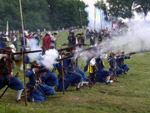 Mušketýři Altblau regimentu.