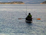 Moje rybářská dovolená v Norsku 2012